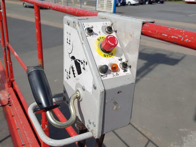Manitou 120 XEL Arbeitsbühne Scherenbühne Elektro