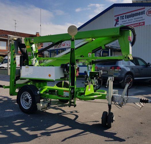 Niftylift 120T PET Anhängerbühne Arbeitsbühne Trailer