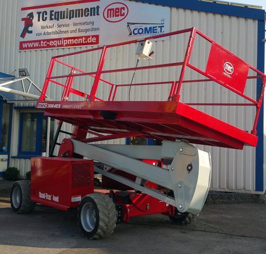 MEC 3084ES Speedlevel Sigma Lift 4x4 Scherenbühne Arbeitsbühne