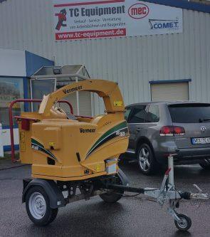 Vermeer BC160XL holzhäcksler vermietung verkauf schermbeck