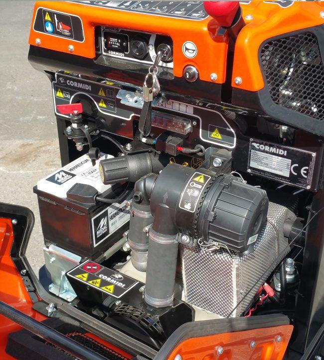 Cormidi C10.85 HIACW Raupendumpen Minidumper Baumaschine