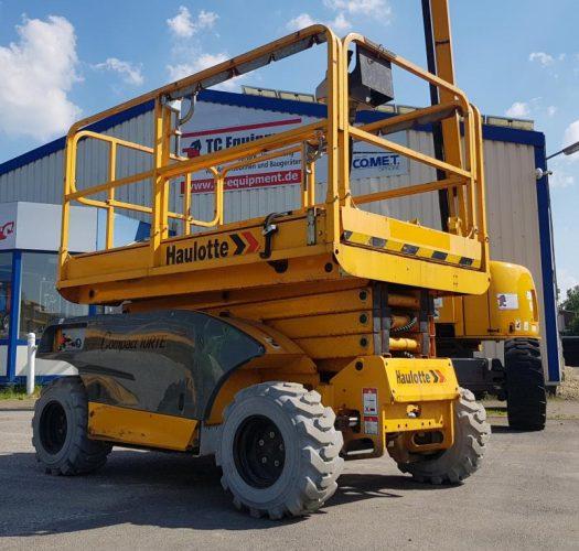 Haulotte Compact 10 RTE Scherenbühne Arbeitsbühne