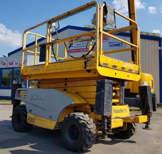 Haulotte Compact 12 DX Dieselscherenbühne Arbeitsbühne