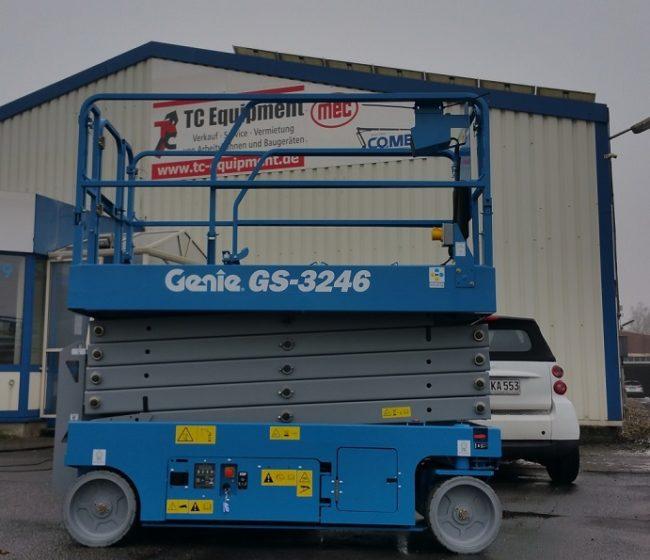 Genie GS3246 Scherenbühne Arbeitsbühne scissorlift hoogwerker