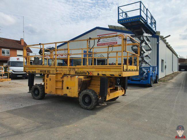 Haulotte H12 SXL Dieselscherenbühne