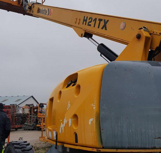 Haulotte H21 TX Teleskoparbeitsbühne