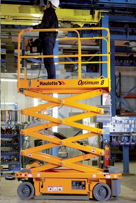 Haulotte Optimum 8 AC Scherenbühne Arbeitsbühne