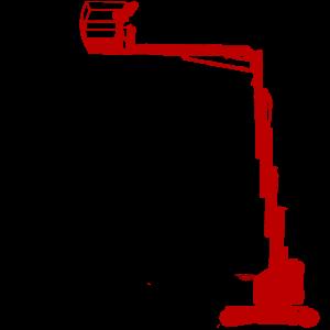 Mastbühne Teleskopmast mieten Vermietung