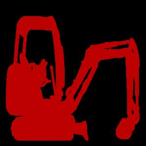 Bagger Raupenbagger minibagger Midibagger