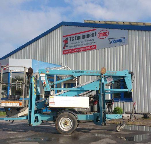 Niftylift 120TPE Bi Energie Anhängerbühne Arbeitsbühne