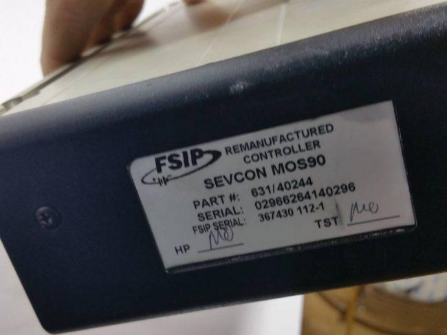 Sevcon 631 40244 MOS 90 Motorregler Motorcontroler