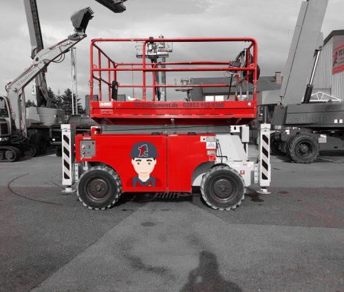 TC-GS14 Diesel Scherenbühne Arbeitsbühne