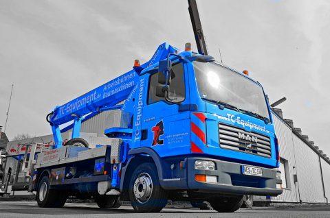 TC-L26 Lkw-Arbeitsbühne Hebebühne Steiger