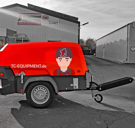 TC-MK1 Kompressor baukompressor luftdruck