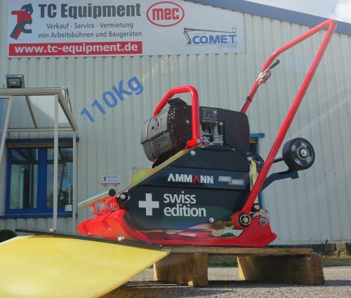 TC-R110 Rüttelplatte Verdichtung Vibrationsplatte