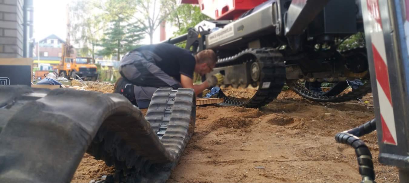 TC Equipment Arbeitsbühnen Reparatur, Service UVV