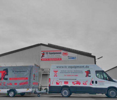 TC-TRK35 Transporter Anhänger Umzugswagen