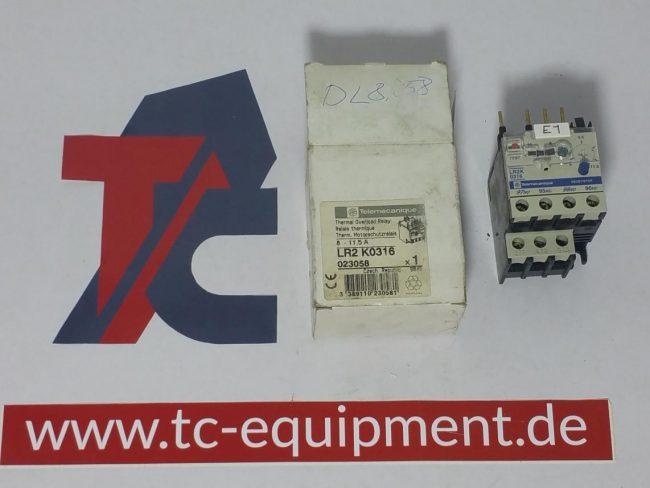 Telemecanique LR2 K0316 Dino lift DL8058 Motorschutzrelais