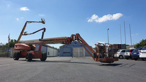 Arbeitsbühnen Vermietung Schermbeck Baumaschinen