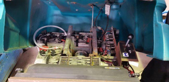 Tennant S12 Kehrmaschine kehrsaugmaschine