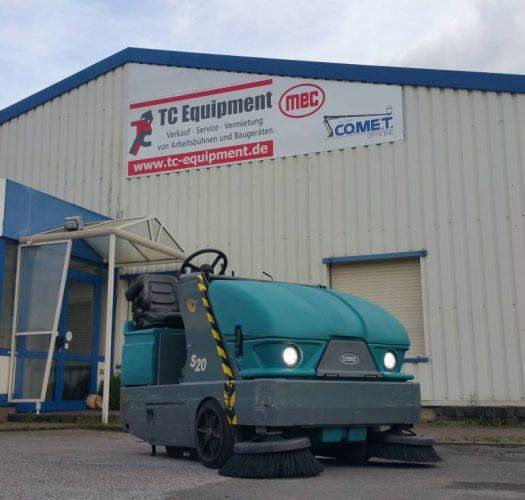 Tennant S20 Kehrsaugmaschine Reinigungsmaschine Sweeper