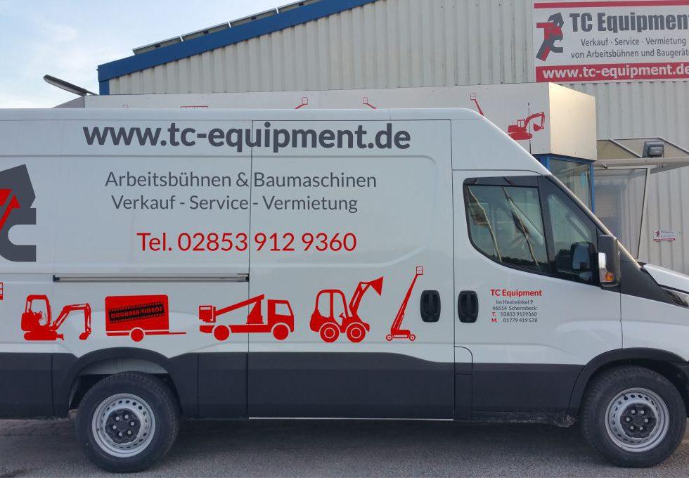 Transporter Iveco Daily Kastenwagen Kasten vermietung schermbeck
