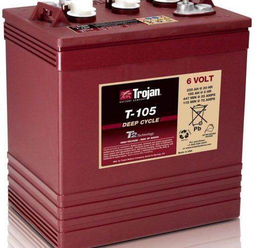 Trojan T-105 Batterie