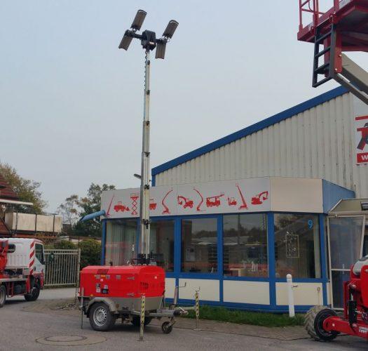 Towerlight VB9 LED Lichtmast Beleuchtung Baustellenbeleuchtung