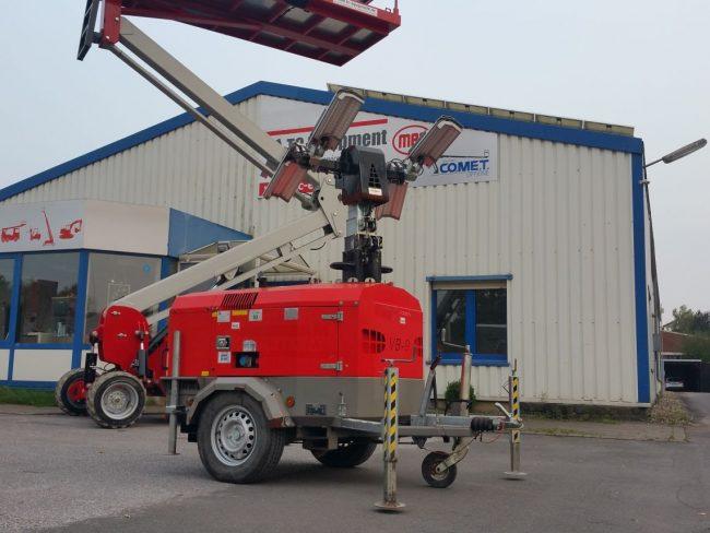 Towerlight VB9 LED Lichtmast Beleuchtung Baustellenbeleuchtung Partybeleuchtung